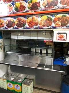 Food Stall for rental.