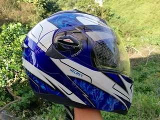 helmet fullface flip up
