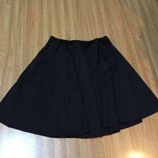 Black Mini Skirt ZARA