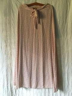 Vintage cherry blossom skirt