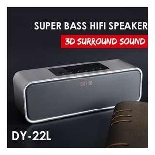 Musky DY-22L LCD Portable Bluetooth Speaker Wireless Sound Bar HIFI Speaker
