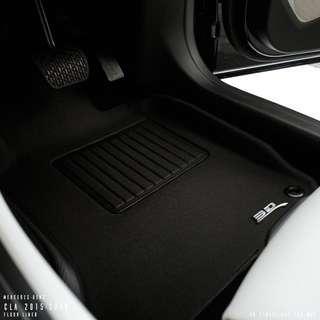 3D Maxpider KAGU CAr Mats - Mercedes CLA Class