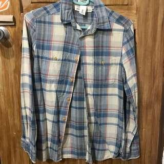 H&M Plaid Longsleeves