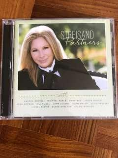 Barbra Streisand Partners music CD