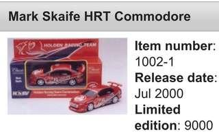 Holden Mobil HRT collectible die cast model 1:43 scale