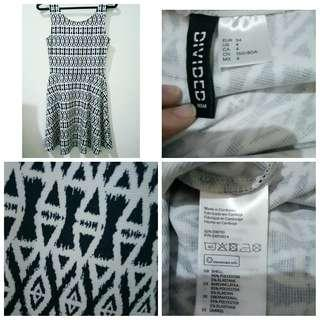 H&M divided dress