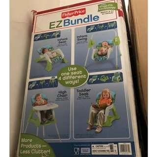 Fisher Price EZ Bundle 4 in 1 Baby System