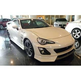 TOYOTA 86 2.0 GT LIMITED PEARL WHITE TRD BODYKIT (A) OFFER UNREG 2014