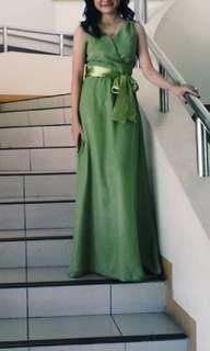 FOR RENT Green Gown