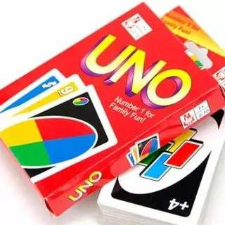 108 UNO Playing Cards Game For Family Friend Travel Fun Toy