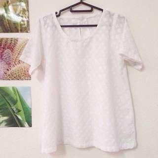 ✨EMBROIDERY SHORT SLEEVE BLOUSE #CNY888