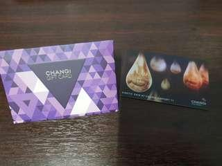 Changi gift card ($50 value) - holographic design
