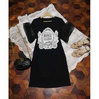 B3-B4: Black Bell Dress