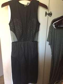 Angel Biba black dress
