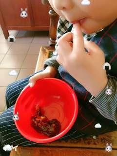 小朋友可以吃的安心拜拜用甜糕