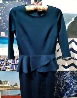NEW!! The Executive Peplum Dress