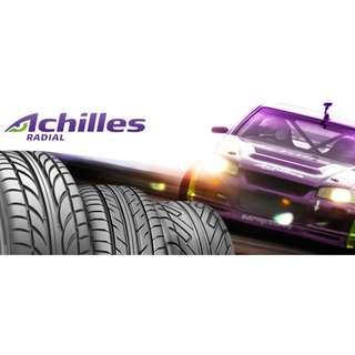 ACHILLES TYRE CLEARANCE ! LIMITED SIZE! CHEAP 2017 BRAND NEW TYRES!