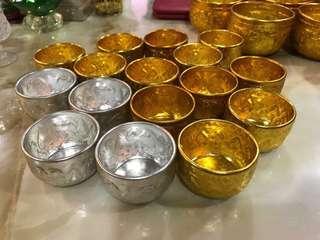 Thai offerings bowl-aluminium