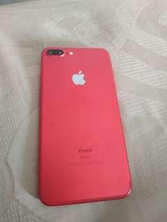 iPhone 7 Plus Red Edition 128GB Like New, Fullset