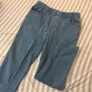 彈性牛仔褲 #一百均價