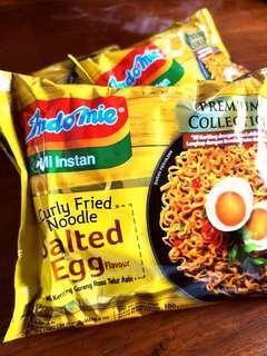 Salted Egg Noodles IndoMie Premium Collection