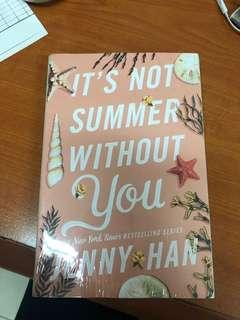 Novel It's Not Summer Without You - Jenny Han