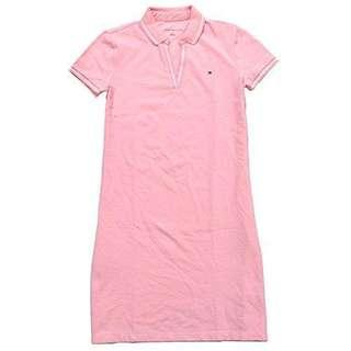 🈹 Tommy Hilfiger 粉紅色polo連身裙 pink polo dress