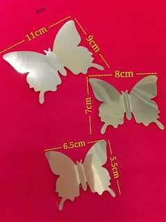 G235 - 3D Butterfly Decoration