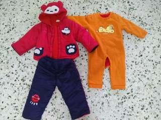 Winter wear for toddlers 2 for RM 45