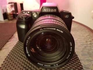 Nikon N60 (F60) Film SLR