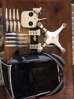 DJI Phantom 3 Standard Drone w/ Carrier Bag + Spare Battery