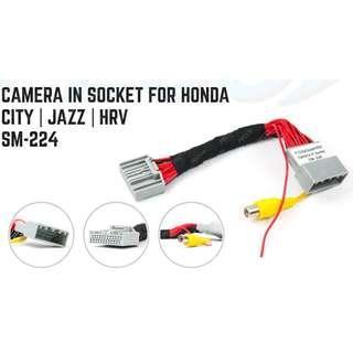 Honda City/Jazz 2014-2017 Reverse Camera Socket Plug & Play