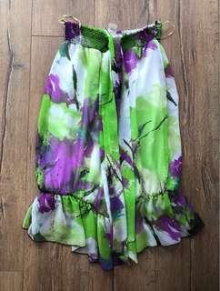 BNWT Drop Waist Halter Dress - L (more like M)