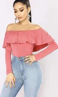 Fashion Nova Off the Shoulder top