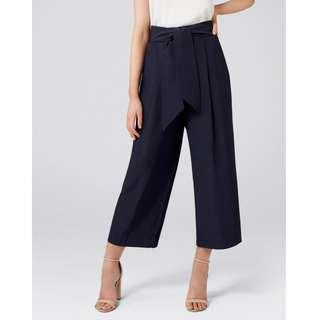 Forever New Chloe Wide Leg Tie Waist Culottes