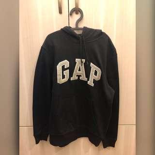 🚚 全新 GAP s號 黑色帽T 長袖上衣