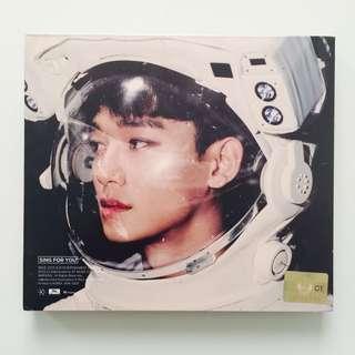 EXO Sing For You Album Chen Jongdae Cover