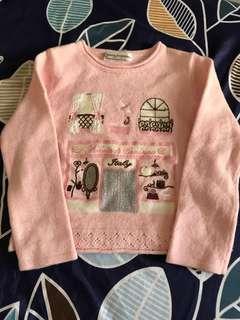 🚚 Roberta di camerino諾貝達粉色針織毛衣