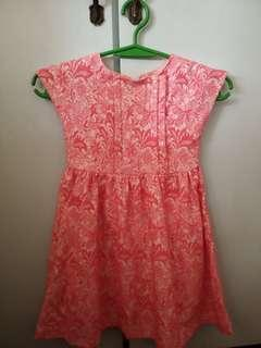 Repriced Pink dress Robby Rabbit