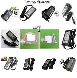 Laptop Notebook Netbook Charger Adapter Acer Asus Compaq Dell Emachine Fujitsu Lenovo Hp Samsung Sony Toshiba Macbook Air Pro