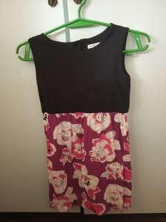 REPRICED Gap Purple and Black Dress