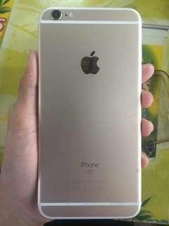 Iphone 6s+ 64gb gold