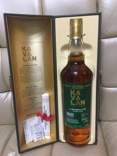 Kavalan Single Malt Whisky 1000ml 台灣威士忌 ex-BOURBON CASK
