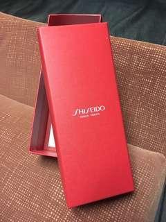 free shiseido box