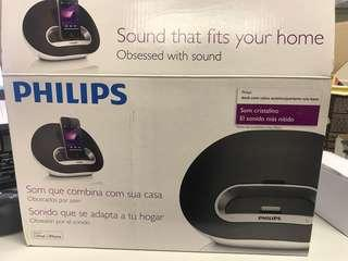 Philips DS3100 iPhone docking speaker/ computer speaker