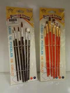 E104 - Painting Brush (6 pieces)
