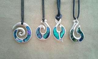 Paua Shell Necklaces
