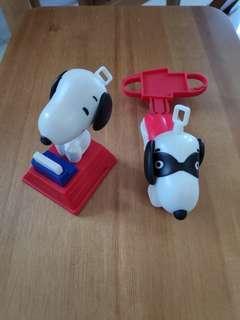 McDonald Snoopy 玩具