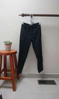 supre black mum jeans size 4