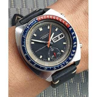 (A346) Vintage Seiko Pogue 6139-6002 Chronograph Watch